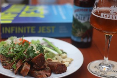 Chiang Mai Sausages @ Craft Beer Factory