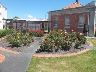 Rose Garden at Old Courthouse