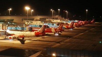 Air Asia planes KLIA2