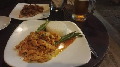 Chicken, Beans, Asparagus