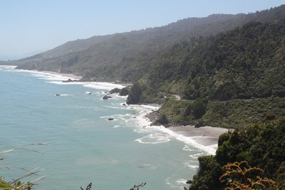 Coast north of Punakaiki