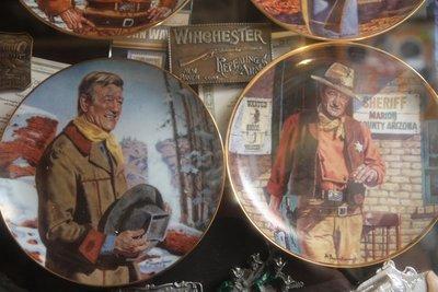 John Wayne plates