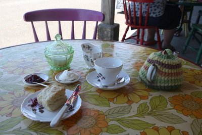 Tea & Scone @ Langford's Store