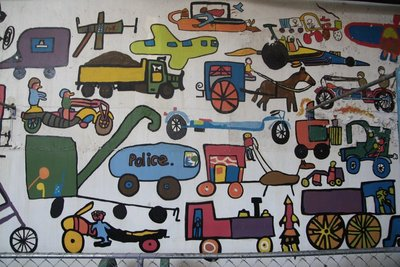 Mural @ Rockville Settlers' & Machinery Museum