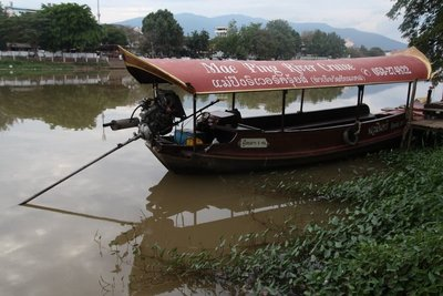 Tour Boat on Ping River