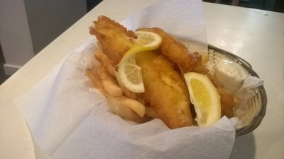 Fish and Chips, Collingwood Pub