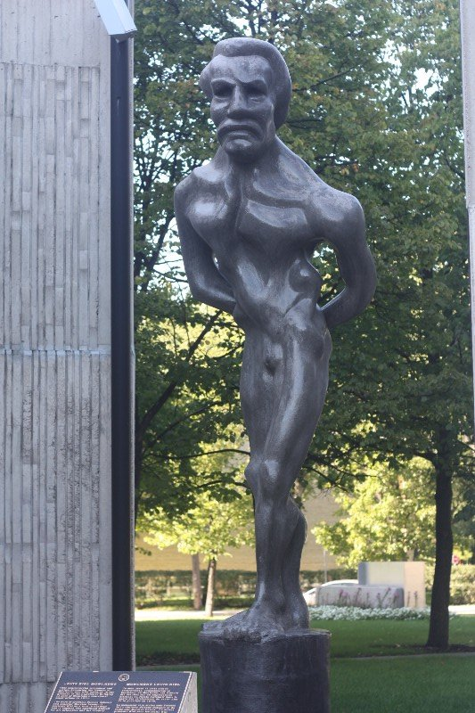 Louis Riel Monument