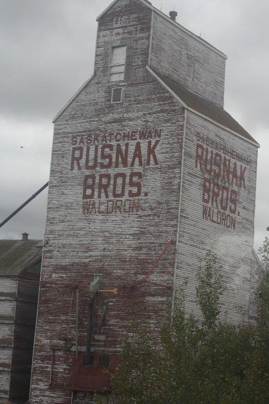 Old grain silo, Saskatchewen