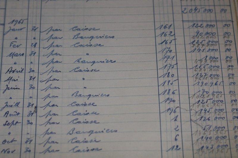 Negotiant's records