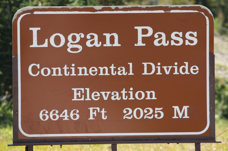 Continental Divide @ Logan Pass