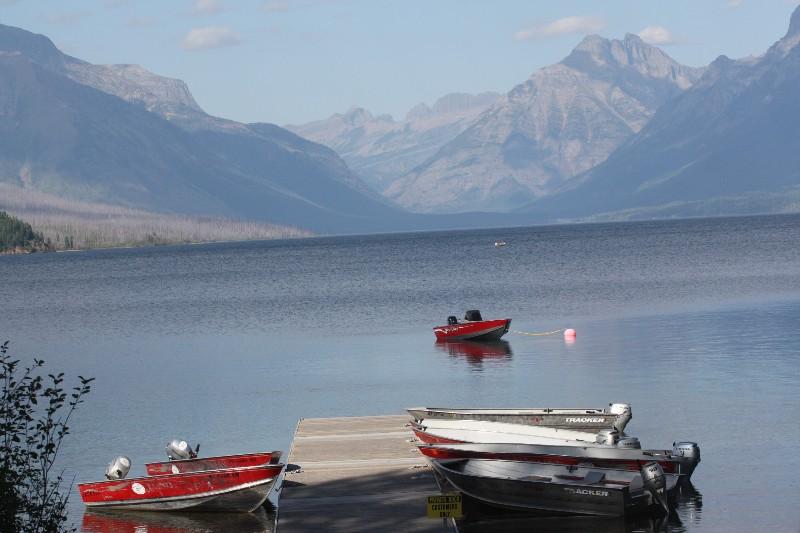 Lake McDonald @ Apgar @ Glacier National Park