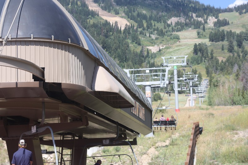 Ski Lift @ Teton Village