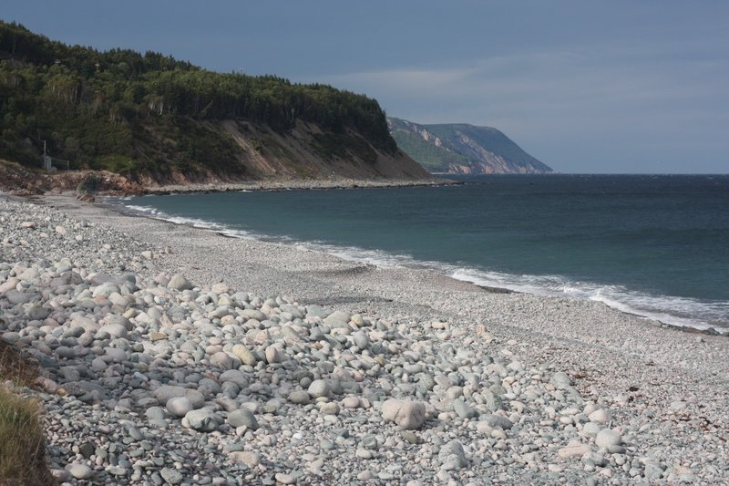First contact with coast, Cabot Trail