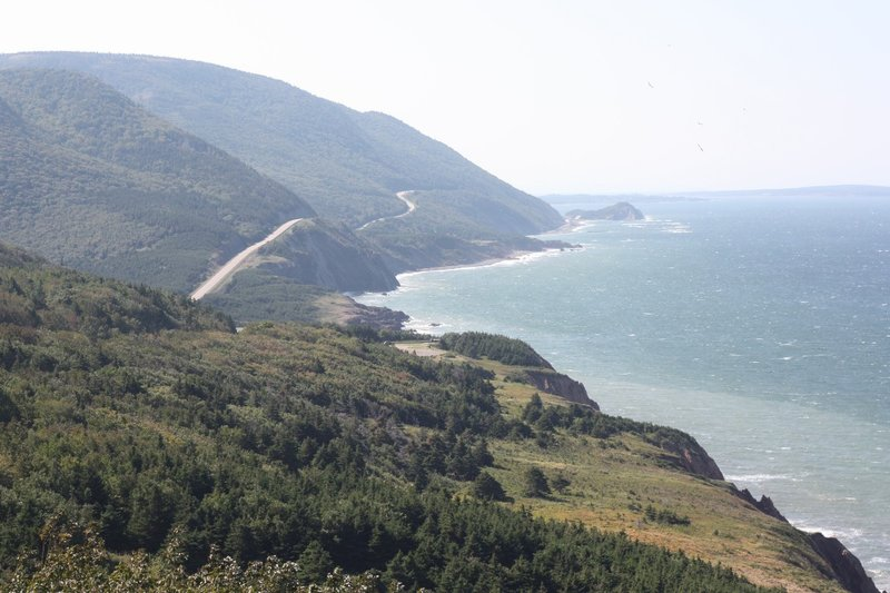 Heading south, East Coast Cabot Trail