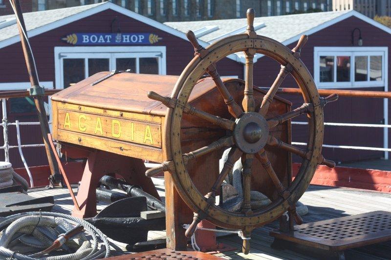 Emergency Wheelhouse, Acadia