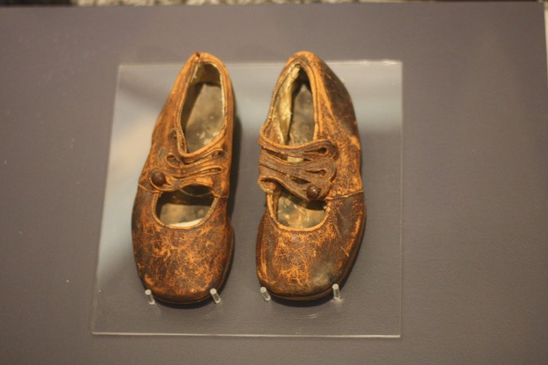 Shoes of Titanic Boy