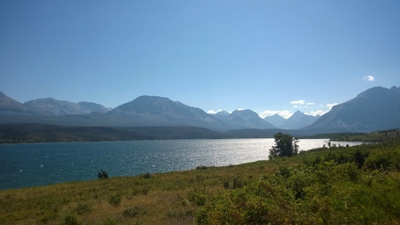 St Mary Lake  @ Glacier National Park