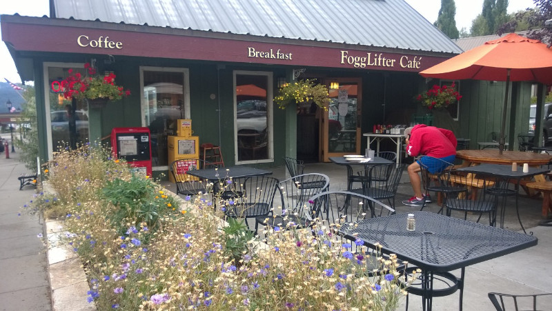 Fogg Lifter Cafe, McCall ID