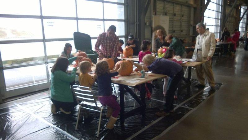 Pumpkin Carving @ Seaport Farmer's Market