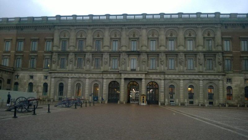 Front, Royal Palace