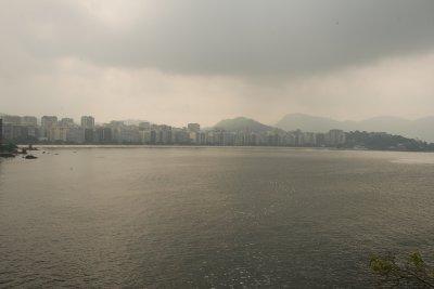 Niteroi'den Rio Manzarası
