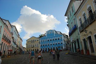Jorge Amado Müzesi'nin bulunduğu meydan