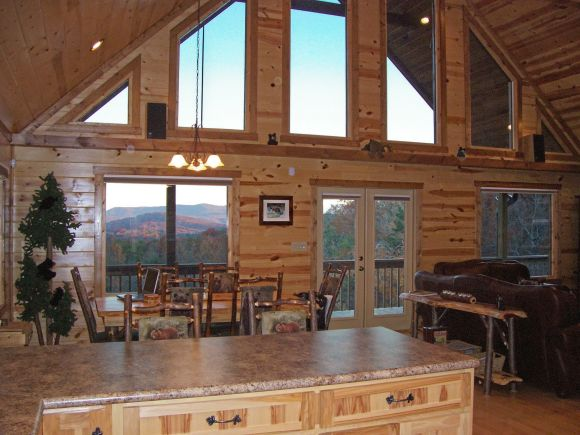Mountain Views from Kitchen