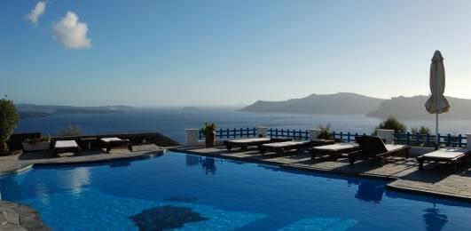 Hotel of Santorini Oia Atlantida villas