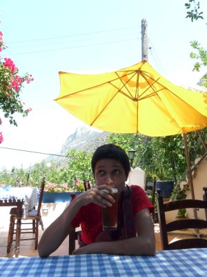Chilling in Karaman village