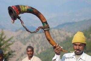Kumaon hunting horn