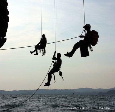 climb ao nang tower railay thailand