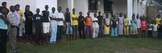 The kids in our orphanage