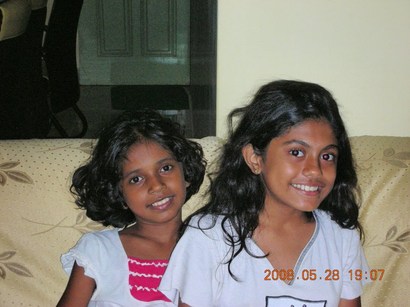 Shakeela and Shakeena my second daughter