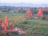 Temples in old Bagan