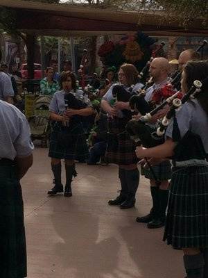 bagpipes on fort bliss