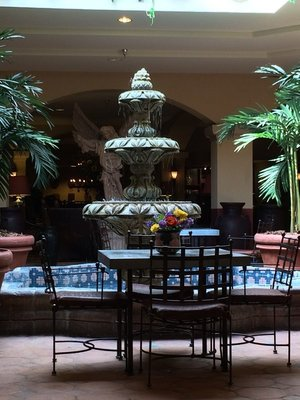 lobby of Hotel Encanto