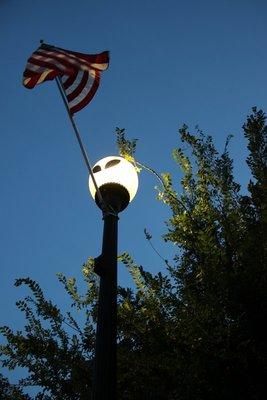 Alien light posts