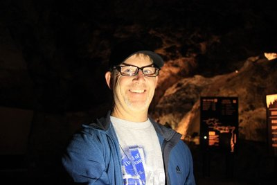 Curt in the caves