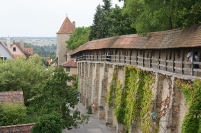 Rhotenburg walls