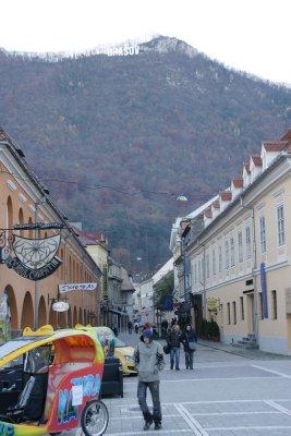 Brasov side street