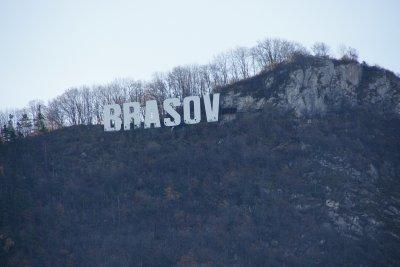 Brasov sign