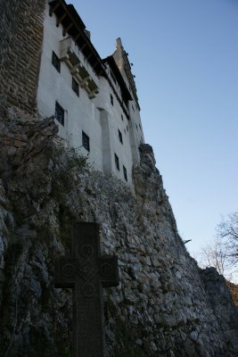 Bran Castle on the walk up