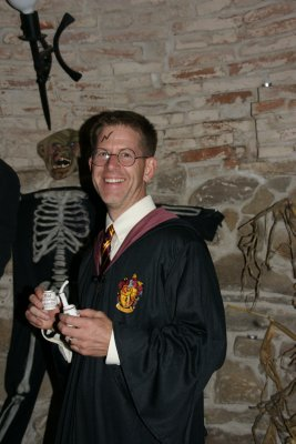 Curt as Harry Potter