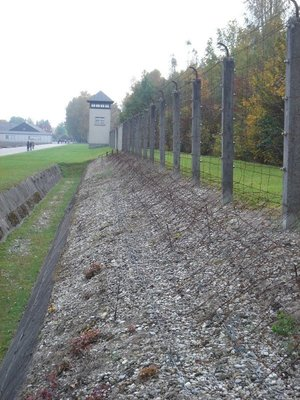 Fence at Dachau