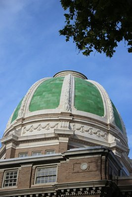 Even the capitol is green
