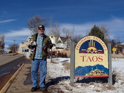 First walk in Taos