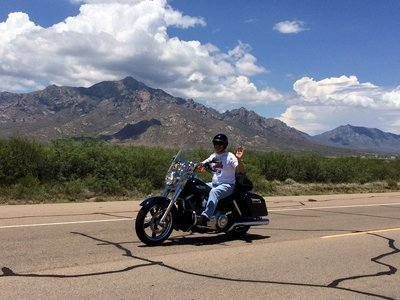 Riding in New Mexico