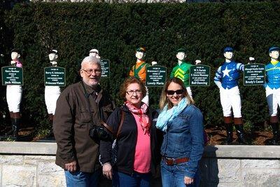 Mom, Dad and I with jockies