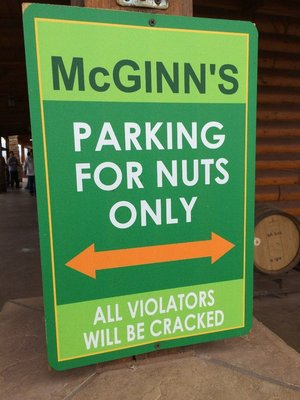 Parking for nuts only