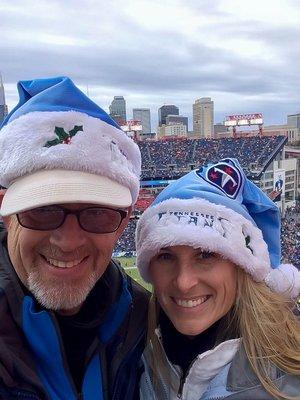 Titans Santa Hats
